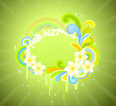 Spring is coming — Vector de stock