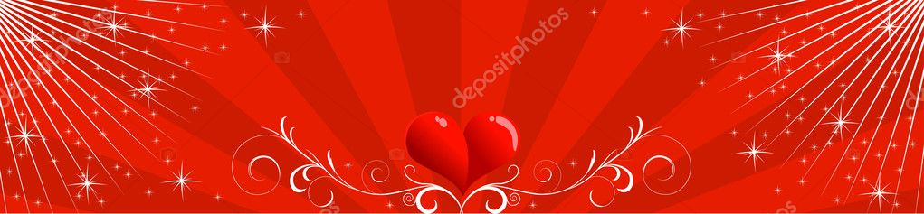 A Valentine header — Stock Vector #2829509