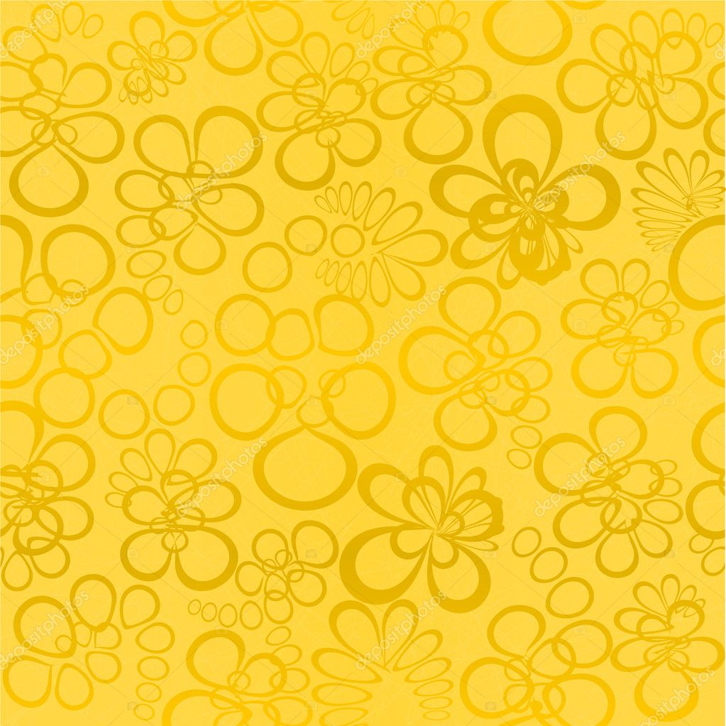 Yellow seamless background — Stock Vector #2829535