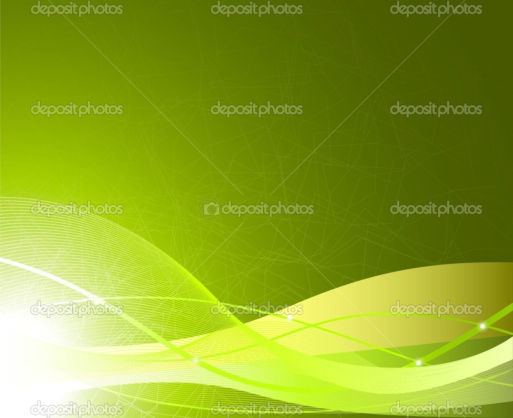 Abstract wavy illustration in spring colors — Stock Vector #2829891