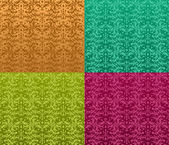 Seamless ornate pattern — Stock Vector