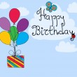 Royalty-Free Stock Vektorov obrzek: Happy birthday