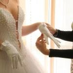 Accessories of the bride — Stock Photo