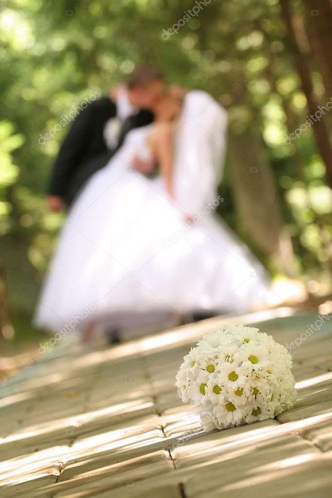 Wedding Bouquet — Stock Photo #3775620