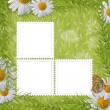 Stok fotoğraf: Card for the holiday with flowers