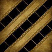 Grunge grafické abstr pozadí s filmem — Stock fotografie