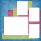Cartão para convite ou parabéns — Fotografia Stock