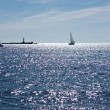 Sailboat at Baltic sea — Stockfoto #3441051