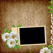 Carte pour la fête des fleurs — Photo