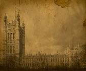 London. Vintage Westminster Abbe — Stock Photo