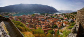 View of Kotor and Kotor bay, Montenegro — Stock Photo