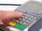 Payment terminal — Stock Photo