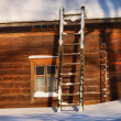 Old Finnish farm house — Stock Photo