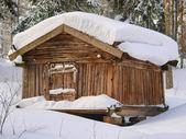 Old Finnish farm house — Stock Photo