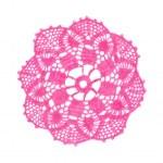 Crocheted doily — Stock Photo #2802566