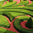 Stock Photo: Europegarden maze