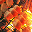 Stock Photo: Meat Skewers Barbecue