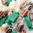 Mint Caramel Candies — Stock Photo
