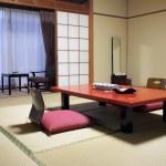 Japanse stijl hotelkamer — Stockfoto