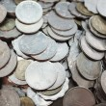 Hong Kong Dollar Coins — Stock Photo #3766095