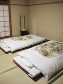 Japanese style bedroom — Stock Photo