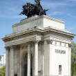 Wellington Arch in central London — Stock Photo