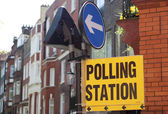 Polling Station — Stock Photo