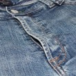 Close up of old jeans — Stock Photo