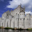 Castle Gravensteen in Ghent Belgium — Stock Photo