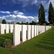 War Graves at Tyne Cot — Stock Photo
