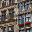 Facade of Guildhall in Brussels — Stock Photo