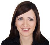Portret młodej kobiety, piękne — Zdjęcie stockowe