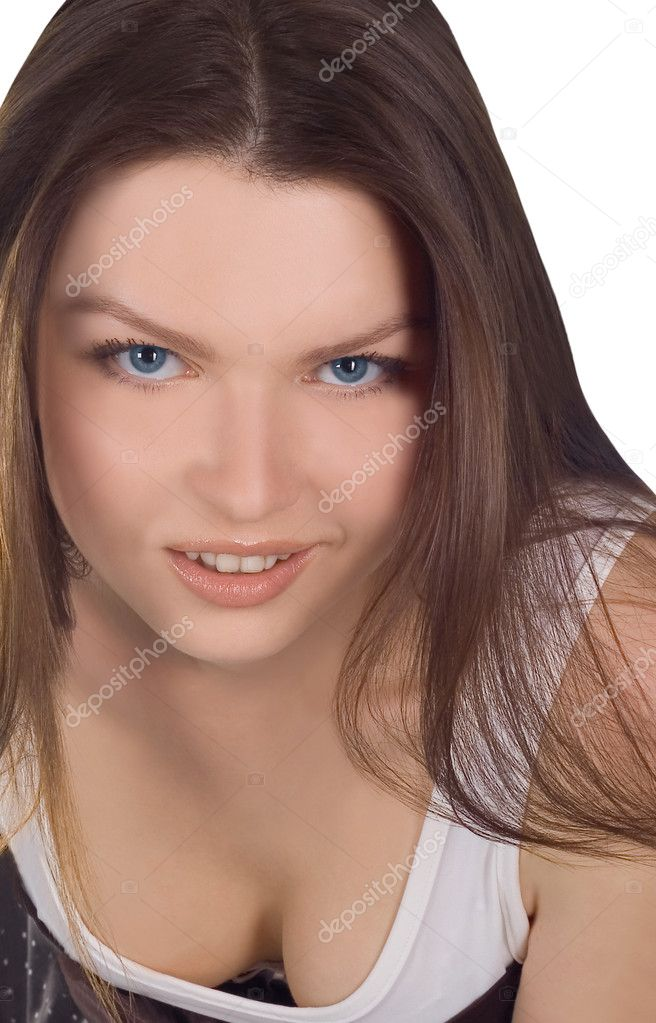 Portrait of a lovely young woman  Stock Photo #2763171