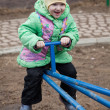 Stock Photo: Child playing at playground
