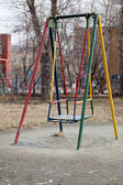 Seesaw at a Playground — Stock Photo