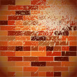 Stock Vector: Brickwall background