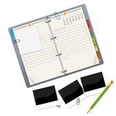 主办单位-您的设计项目的说明 — 图库矢量图片