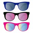 Royalty-Free Stock Vector Image: Collection of sunglasses