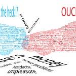 dopravní nehoda - slovo koláž — Stock vektor