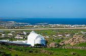 Los edificios blancos, iglesias de isla — Foto de Stock