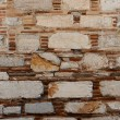 The old brick wall - the background — Stock Photo