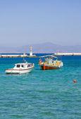 Fishing boats in the marine bay — Stock Photo