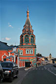 Russian church in Moskow. — Stock Photo