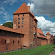 The old castle Malbork - Poland. - Stock Photo