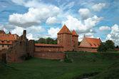 The old castle Malbork - Poland. — Stock Photo