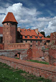 The old castle in Malbork - Poland. — 图库照片