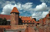 The old castle Malbork - Poland. — 图库照片