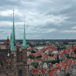 Gdansk, Poland. Panoramic view. - Stock Photo