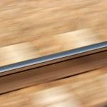 Railway blur — Stock Photo