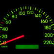 Stock Photo: Speedometer